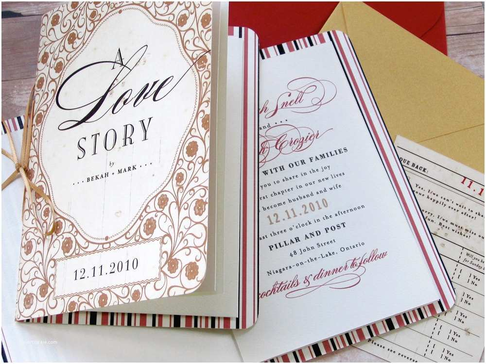 Storybook Wedding Invitations Of Wedding Cards Invitation for Inspiration
