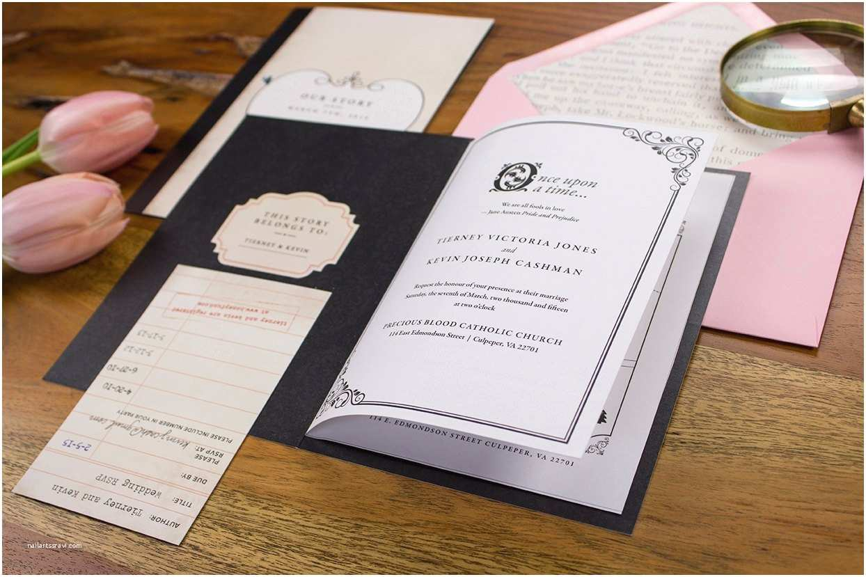 Storybook Wedding Invitations Storybook Wedding Invitation Depost to by Archerandolive