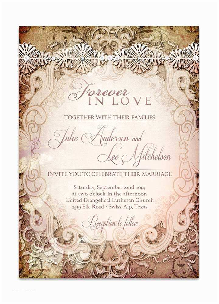 Storybook Wedding Invitations Vintage Storybook Wedding Invitation Odd Lot Paperie