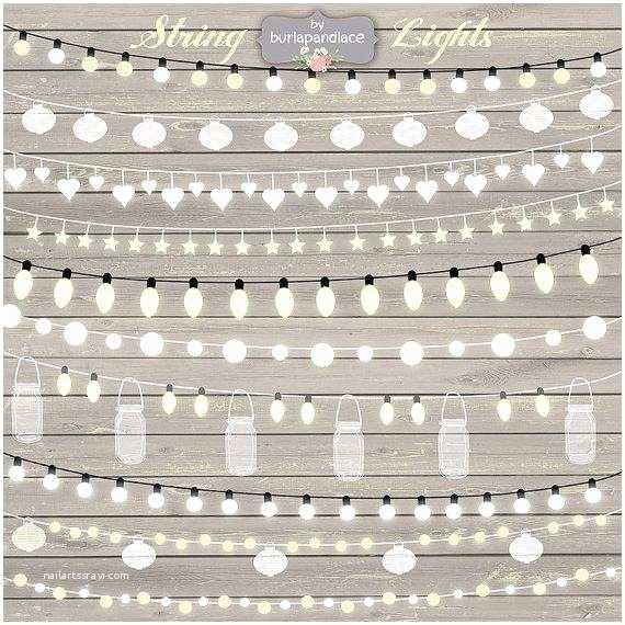 String Lights Wedding Invitation String Lights Clipart Wedding Invitation Clipart Lights