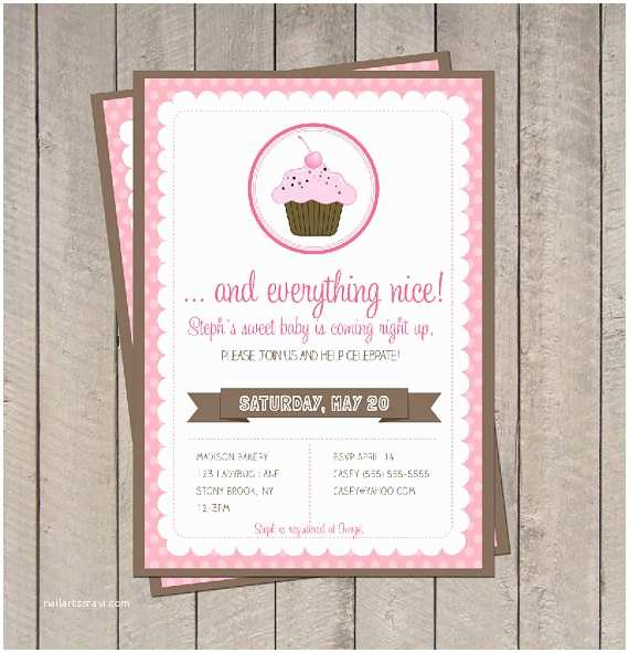 Sugar and Spice Baby Shower Invitations Get the Party Started S Party Supplies