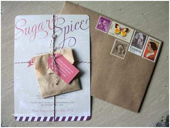 Sugar and Spice Baby Shower Invitations Items Similar to Sugar and Spice Baby Shower Invitation or