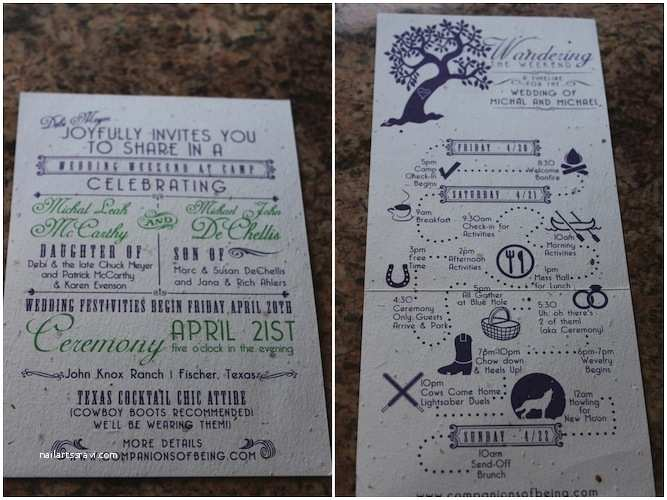 Summer Camp Wedding Invitations Geeky Rustic Summer Camp Wedding In the Woods