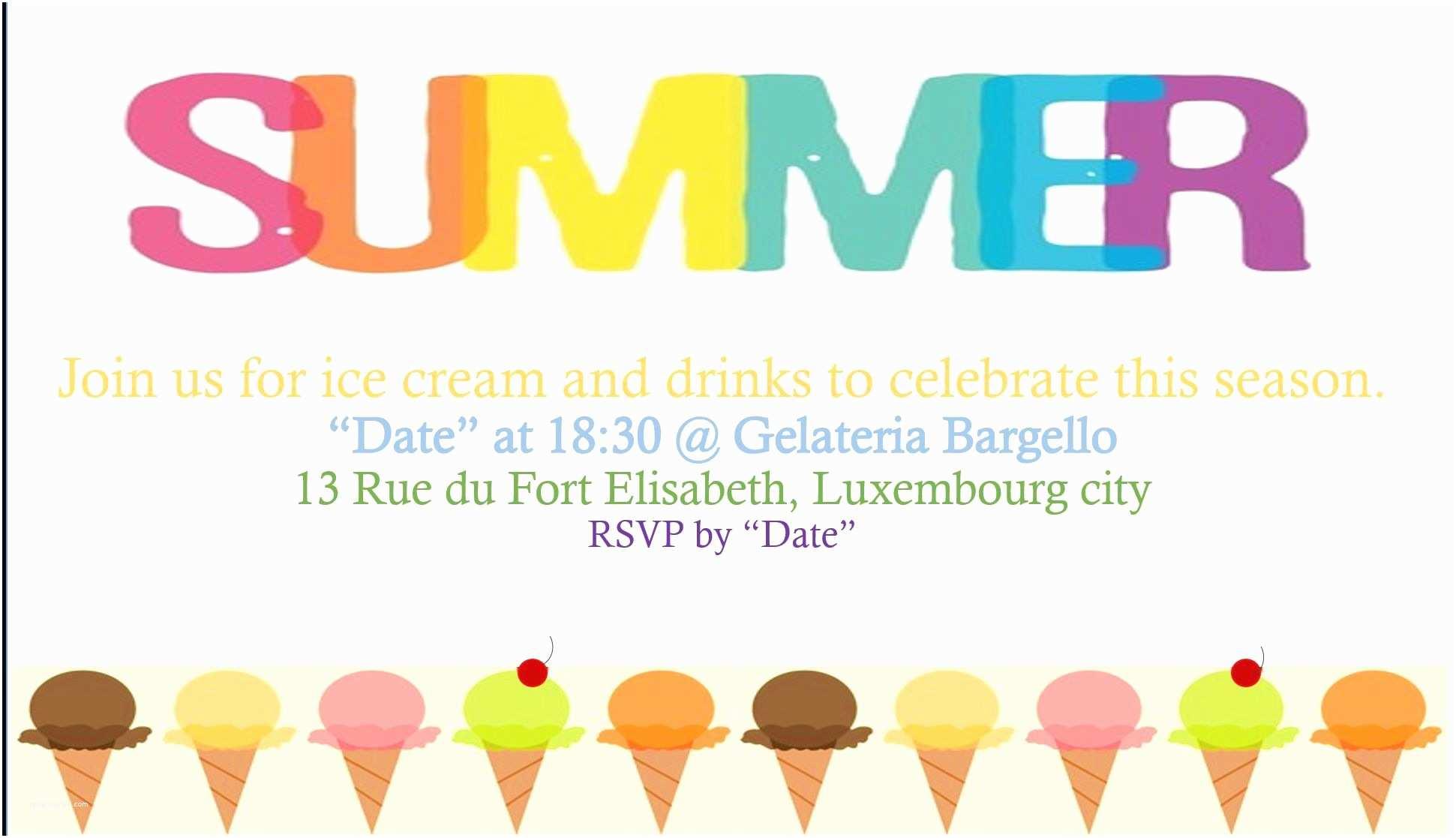 Summer Party Invitations Summer Party Invitations – Gangcraft