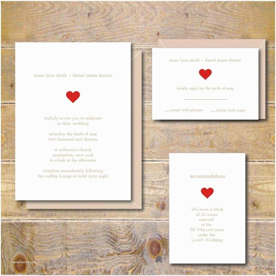 Summer Wedding Invitations Simple Wedding Invitations Rustic Wedding Invitations