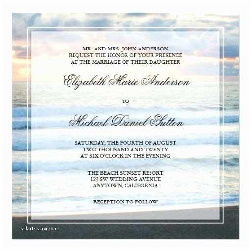 Sunset Beach Wedding Invitations 218 Best Sunset Wedding Invitations Images On Pinterest