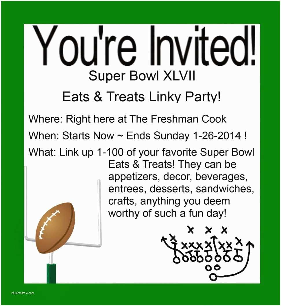 Super Bowl Party Invitations Invitation Templates Super Bowl Invite Wording Create Your