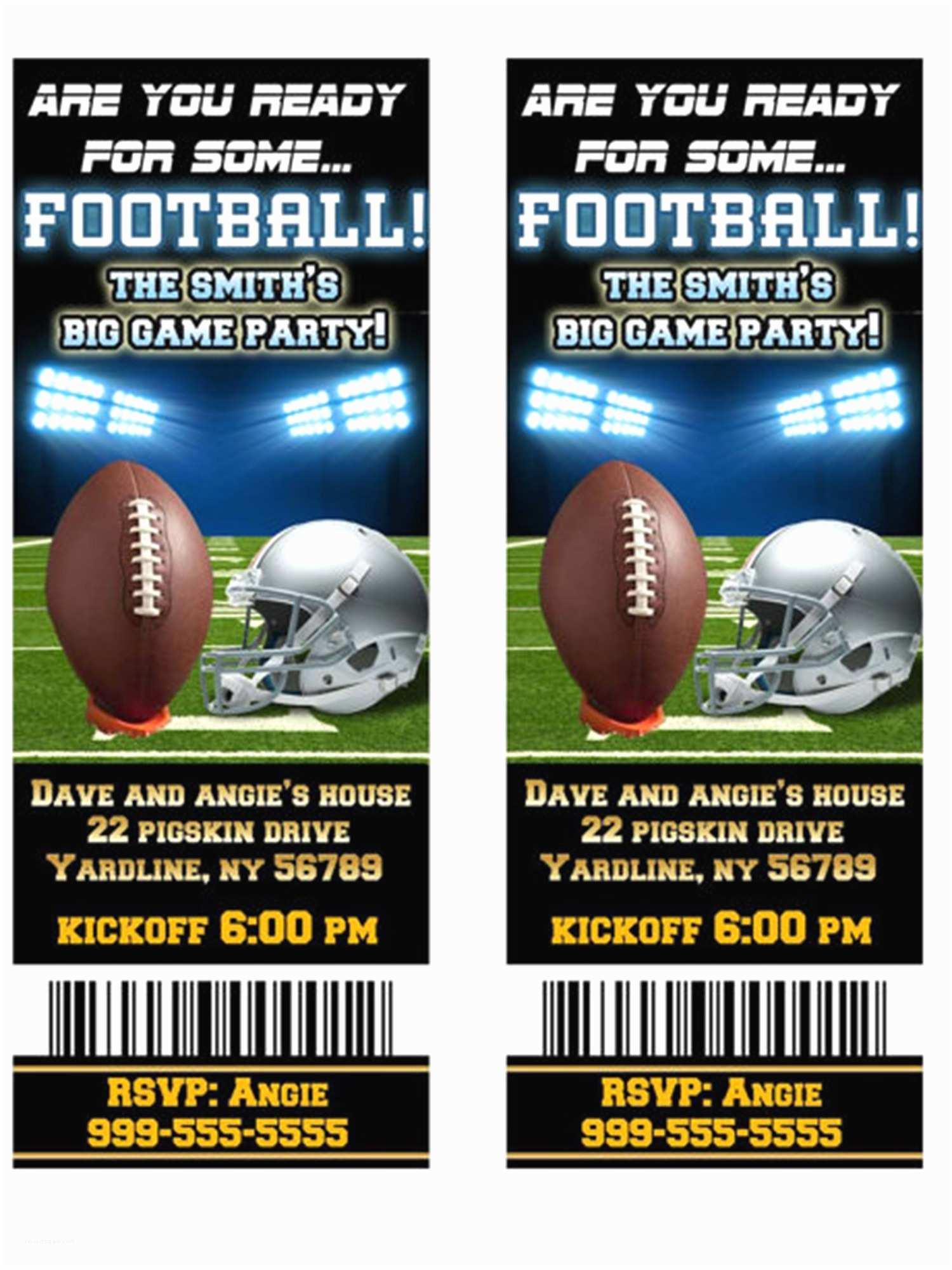 Super Bowl Party Invitations Super Bowl Party Ideas Decorations Games Serveware
