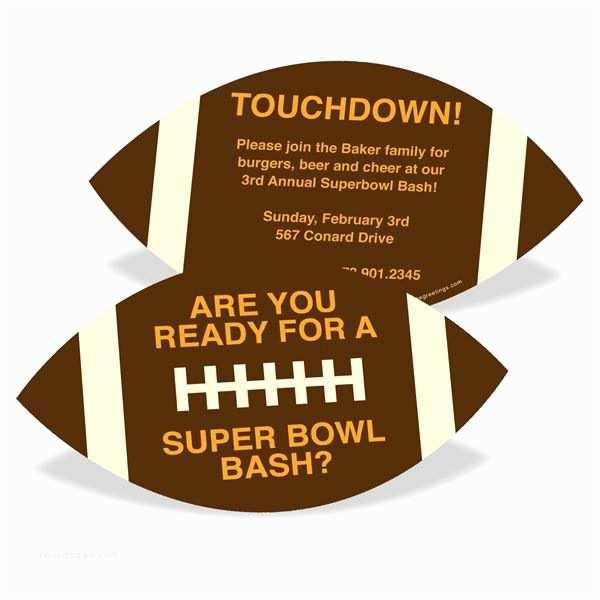 Super Bowl Party Invitations Super Bowl Party Invitations