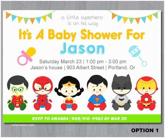 Superhero Baby Shower Invitations Superhero Baby Shower Invitation Super Hero Baby Shower