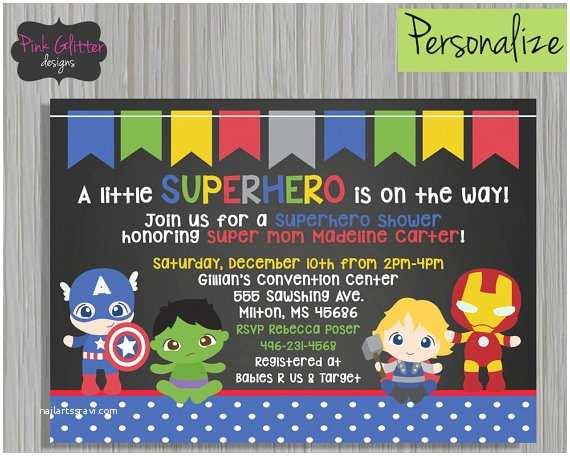 Superhero Baby Shower Invitations Superhero Shower Superhero Baby Shower Superhero Baby Shower