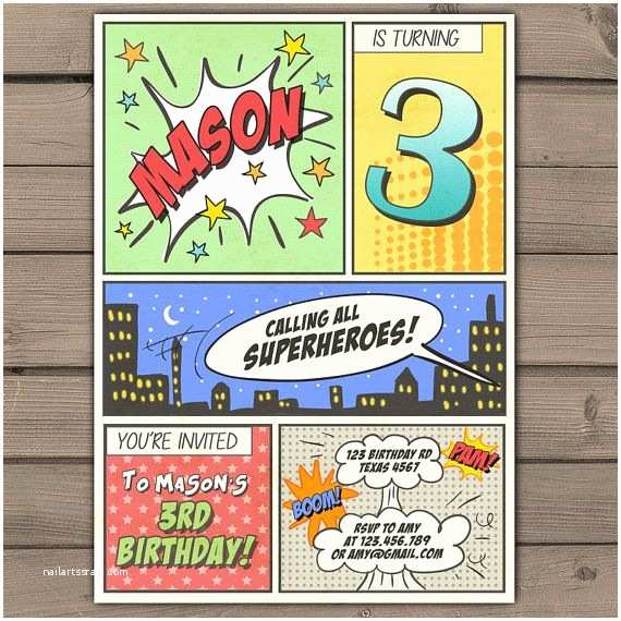 Superhero Birthday Party Invitations Best 25 Superhero Invitations Ideas On Pinterest
