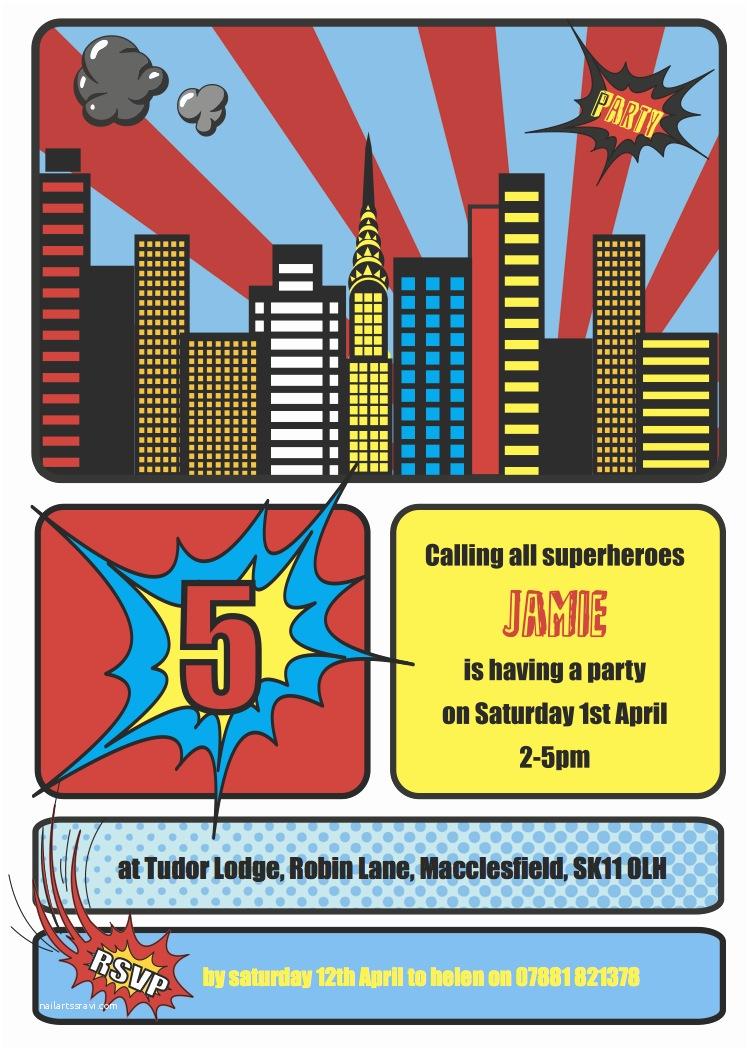 Superhero Birthday Party Invitations Cococards Weekly Party Idea Superhero Party