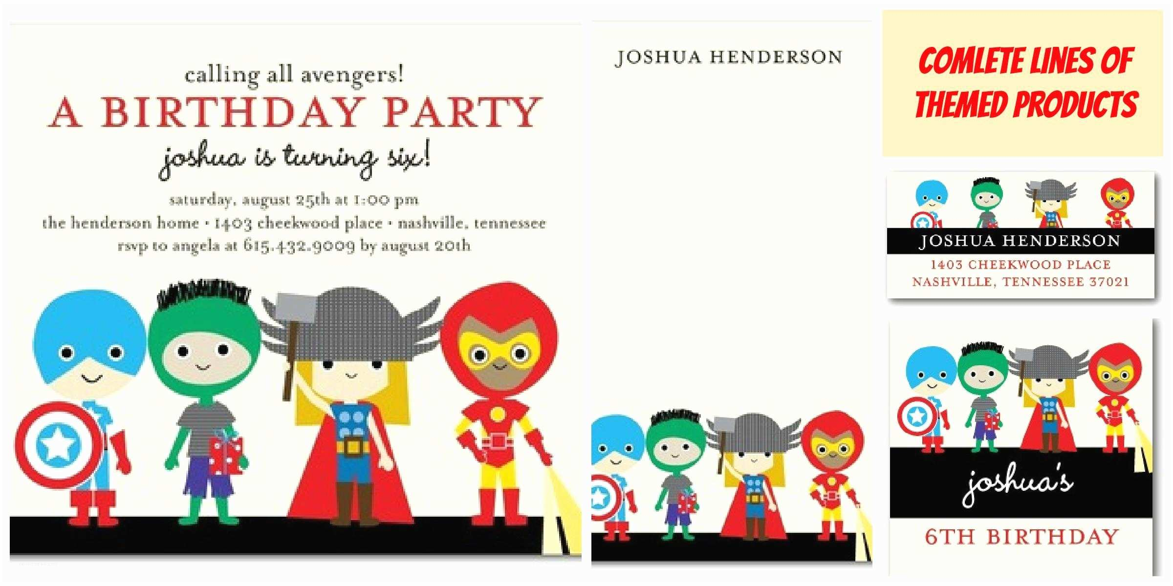 Superhero Birthday Party Invitations Superhero Party Invitations