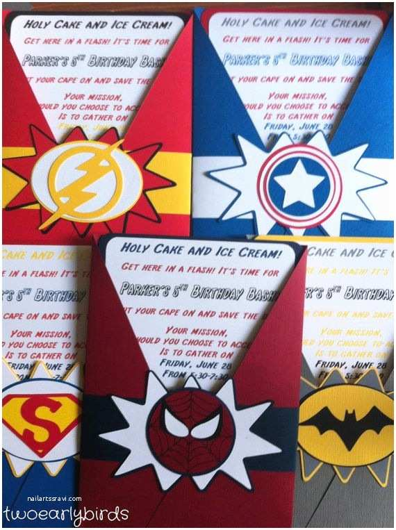 Superhero Party Invitations 25 Best Ideas About Superhero Invitations On Pinterest
