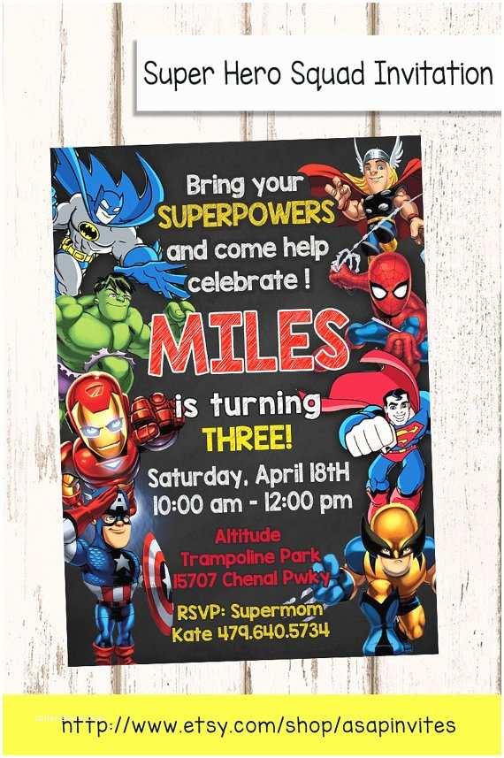 Superhero Party Invitations Superheroes Superhero Birthday Party Avengers Super Hero