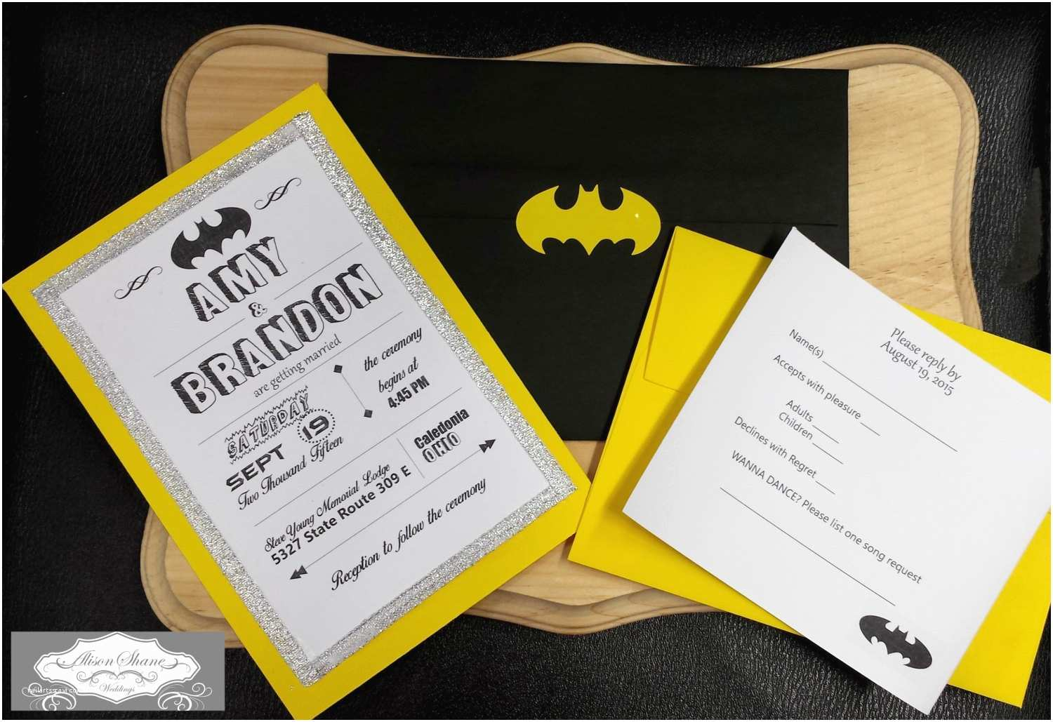 Superhero Wedding Invitations Superhero Wedding Invitations Intended for Ucwords] – Card