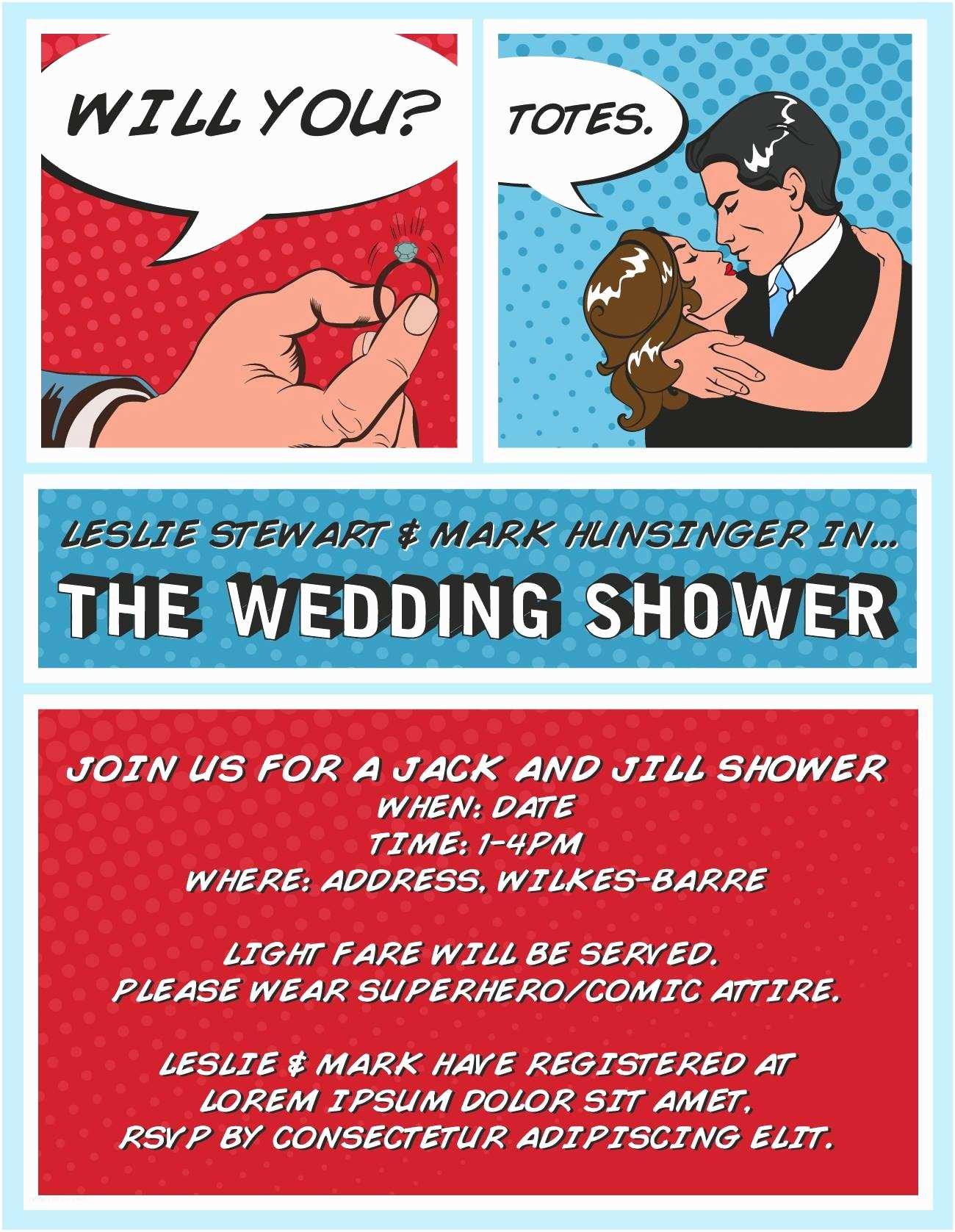 Superhero Wedding Invitations the Superhero Shower I'm Styling My Wedding Shower