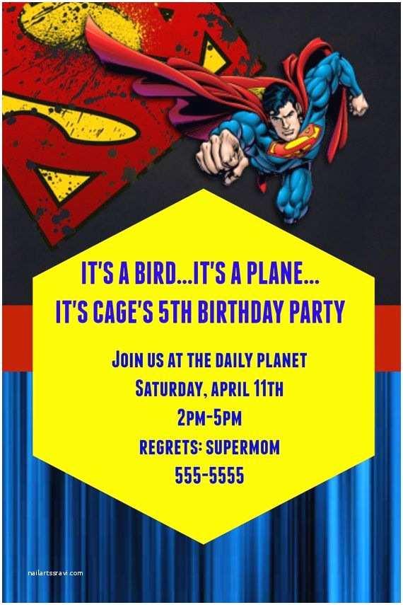 Superman Wedding Invitations 25 Best Ideas About Superman Invitations On Pinterest