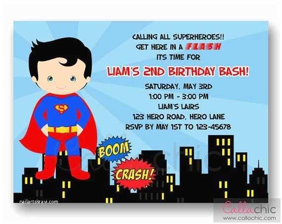 Superman Wedding Invitations Best 25 Superman Invitations Ideas On Pinterest