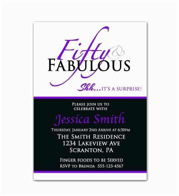 Surprise 50th Birthday Party Invitations 8 Best Of Surprise 50th Birthday Invitations
