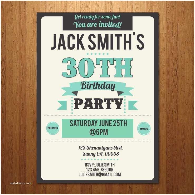 Surprise 60th Birthday Invitations 21st 30th 40th 50th 60th Surprise Birthday