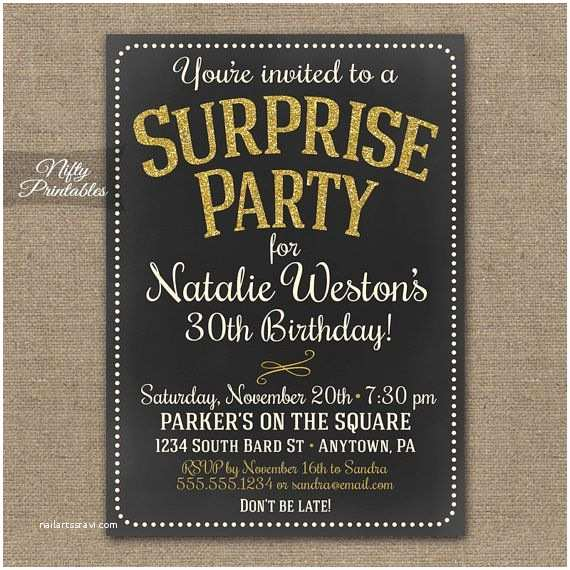 Surprise 60th Birthday Invitations Best 25 Ideas On Pinterest