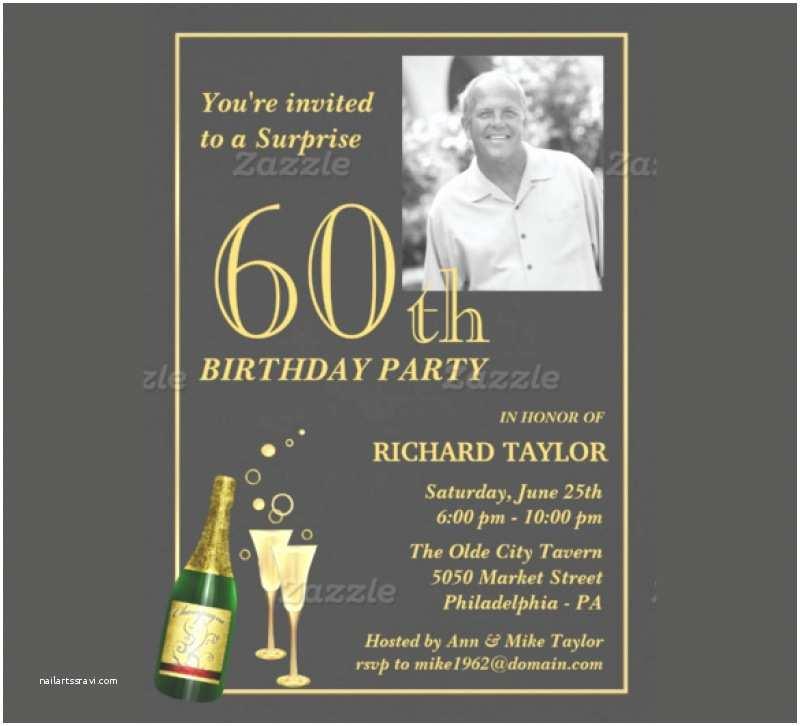 Surprise 60th Birthday Invitations Surprise 60th Birthday Party Invitation