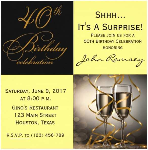 Surprise 60th Birthday Party Invitations 15 Surprise Birthday Invitations Free Psd Vector Eps