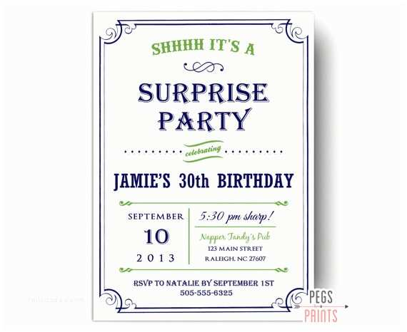 Surprise 60th Birthday Party Invitations Surprise Birthday Invitations Printable Surprise