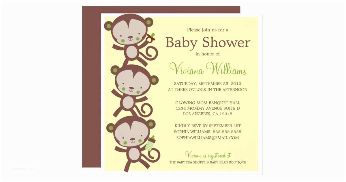 surprise baby shower invitation