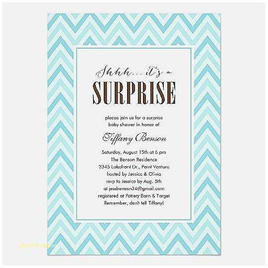 Surprise Baby  Invitation Baby  Invitation Fresh Standard Baby
