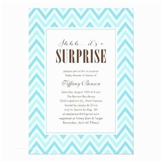 Surprise Baby Shower Invitation Surprise Baby Shower