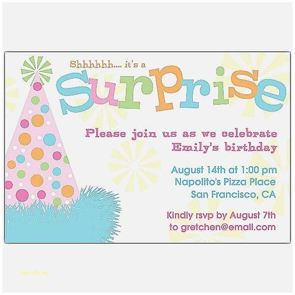 Surprise Baby Shower Invitations Baby Shower Invitation Lovely Free Surprise Baby Shower