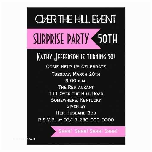 Surprise Birthday Invitation Wording Surprise 50th Birthday Party Invitations Wording