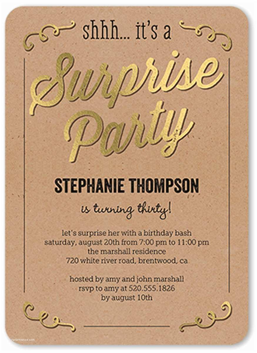 Surprise Birthday Invitations 6 Create Your Own Birthday Invitations