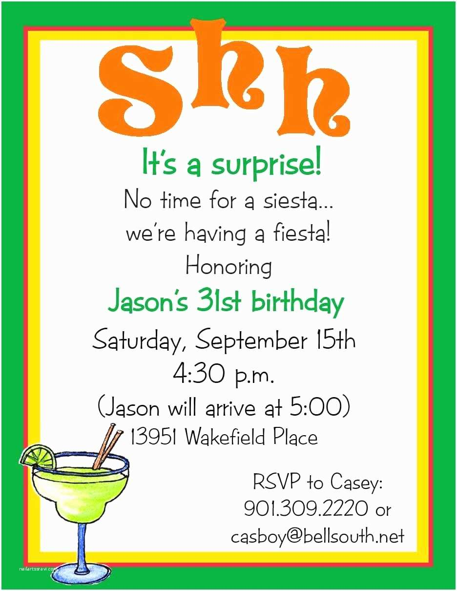 Surprise Birthday Party Invitations 50th Gangcraft