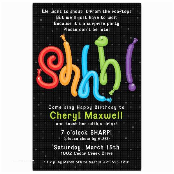 Surprise Birthday Party Invitations Surprise Party Quotes Quotesgram