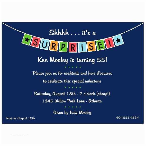 Surprise Party Invitation Surprise Party Quotes Quotesgram