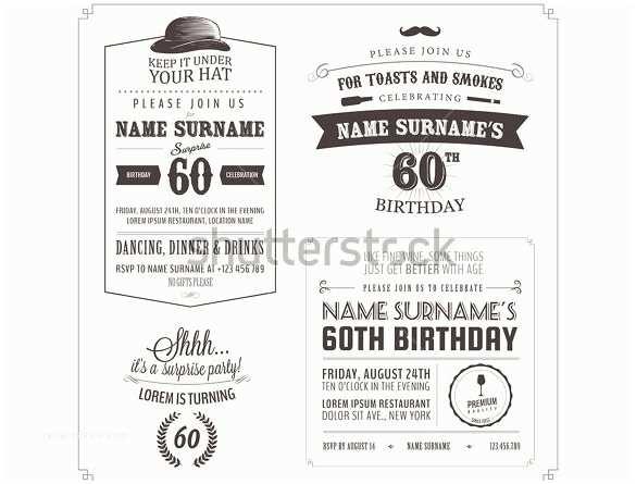 Surprise Party Invitation Template 26 Surprise Birthday Invitation Templates – Free Sample