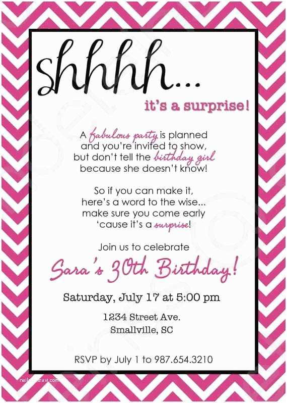 Surprise Party Invitation Template I Threw My Friends A Surprise Party For Their