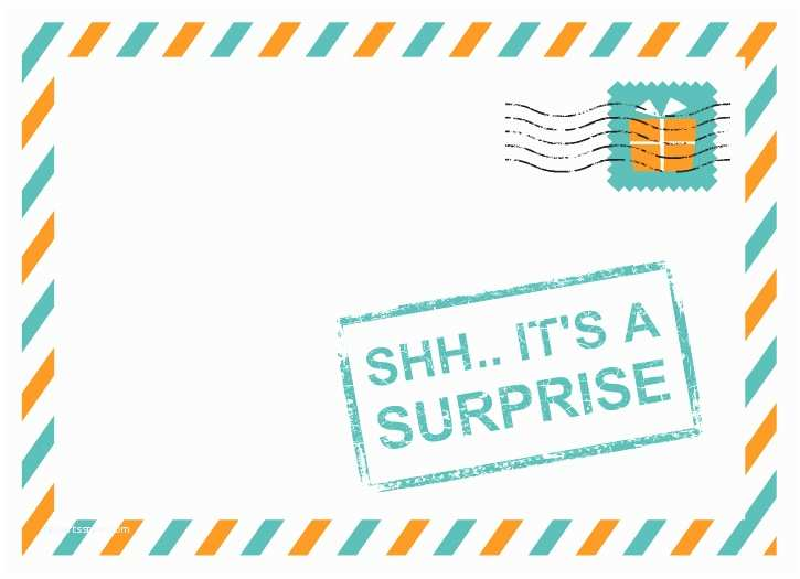 Surprise Party Invitation  Surprise Birthday Invitations