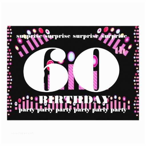 Surprise Party Invitations Templates Free 60th Surprise Birthday Party Invitation Template 13 Cm