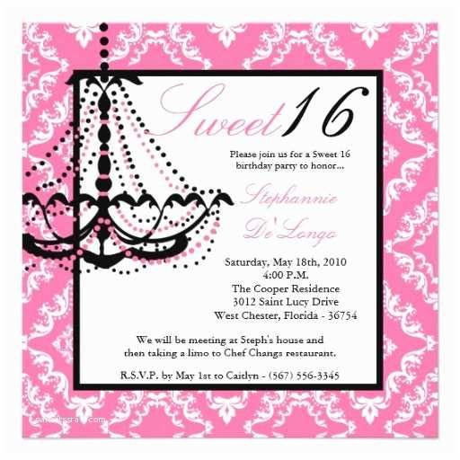 Sweet 16 Birthday Invitations Sweet 16 Birthday Invitations Wording