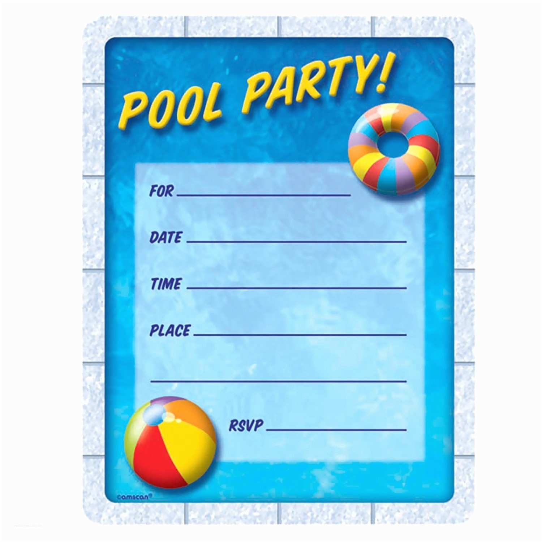 Swim Party Invitations Birthday Pool Party Invitations Birthday Pool Party