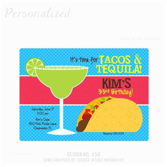 Taco Party Invitation Items Similar to Taco Invitation Taco Party Tacos