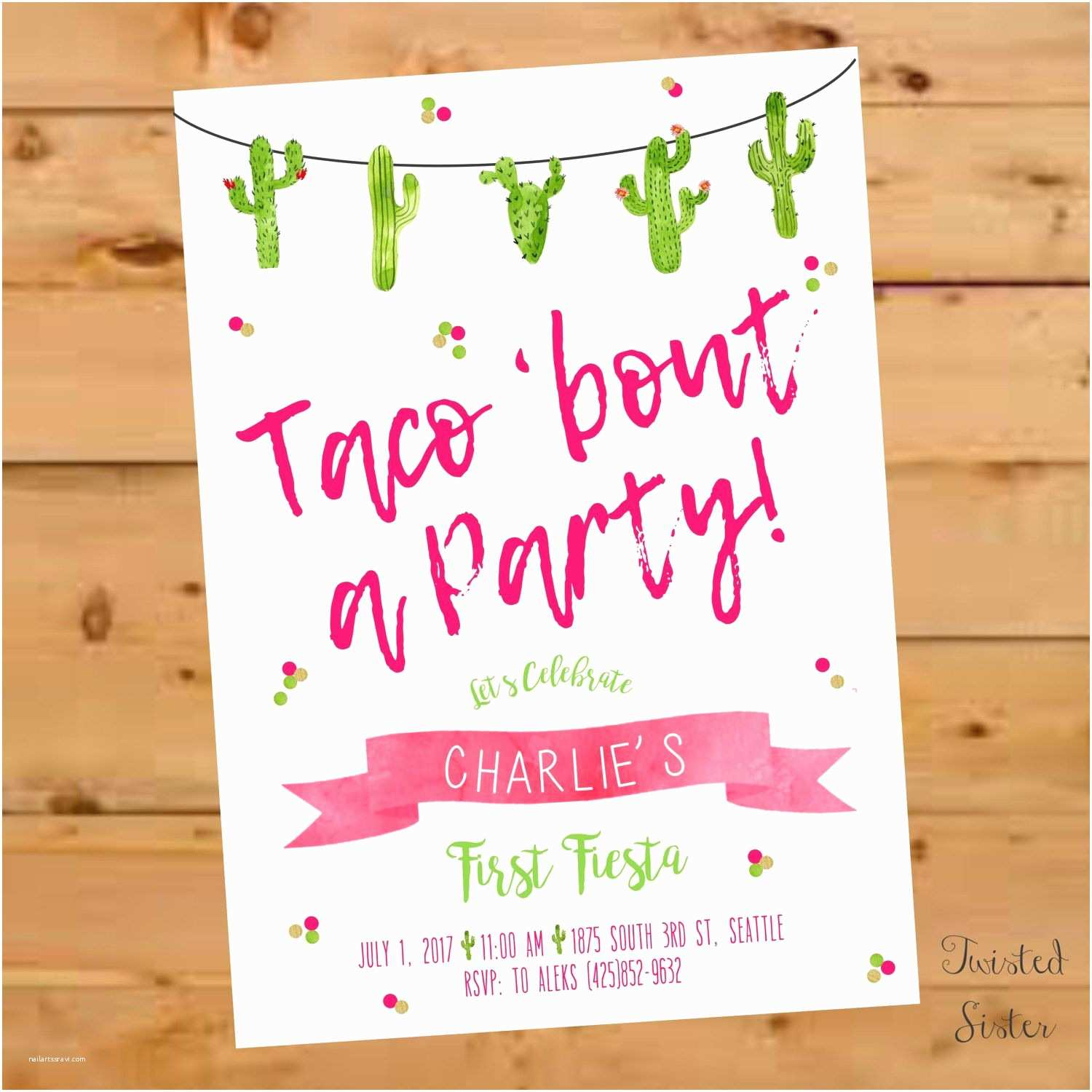 Taco Party Invitation Taco Bout A Party Invitation Taco Bout A Party Invite