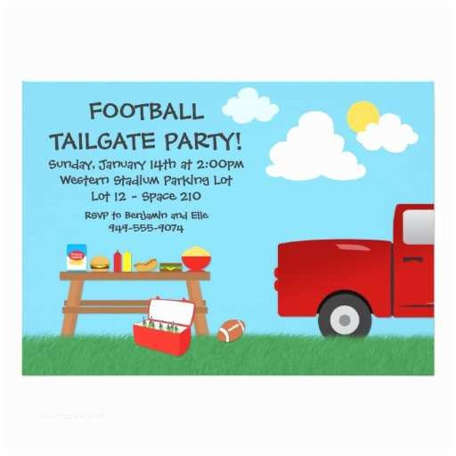 Tailgate Party  Football Tailgate Party