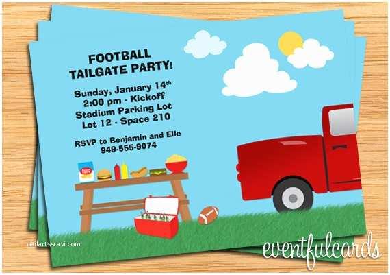 Tailgate Party Invitation Tailgate Party Invitations Nailartssravi