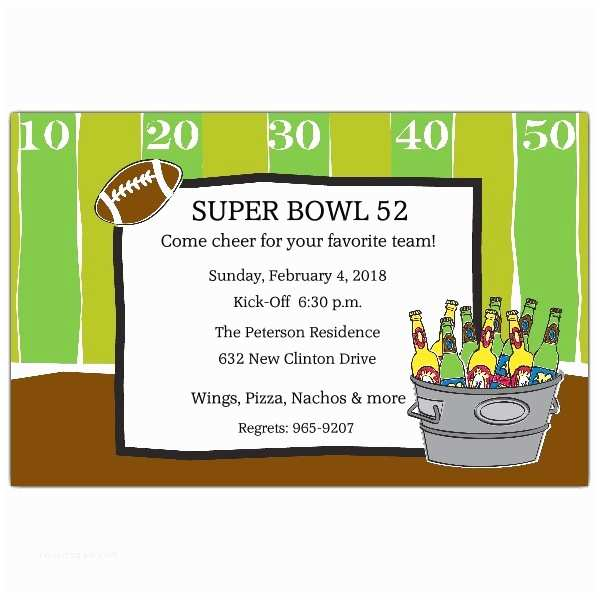 Tailgate Party Invitation Tailgate Party Superbowl Football